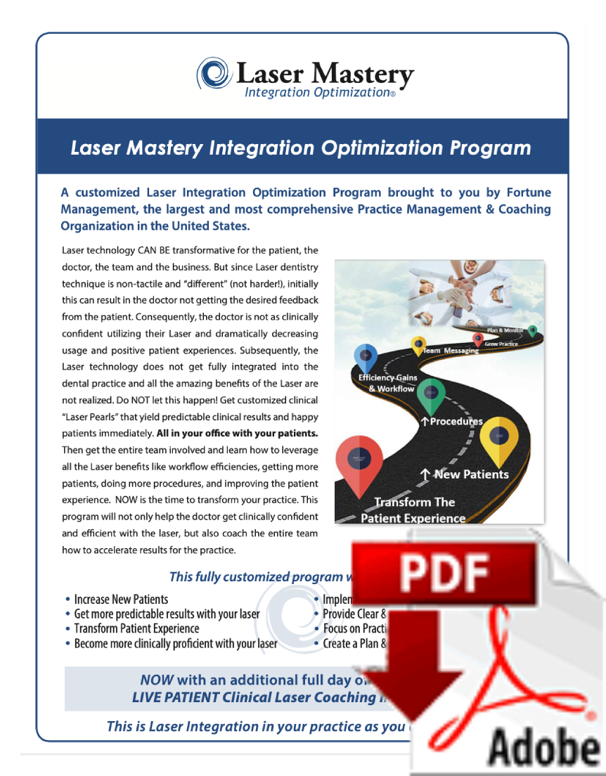 Laser Mastery Integration Optimization Program